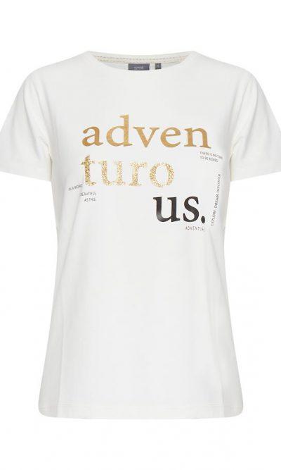 Off-white BYpandina t-shirt gold