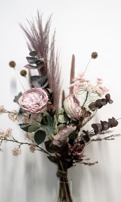 zijde roze